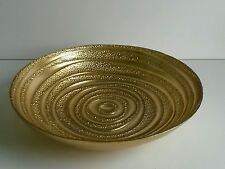 * NEW DECORATIVE GOLD GLASS DISH BOWL pot pourri ornament home gift decoration.