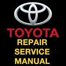 TOYOTA COROLLA 1983 1984 1985 1986 1987  SERVICE REPAIR MANUAL