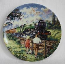 """The Flying Scotsman"" Limited Edition Plate by Paul Gribble"