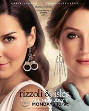 A. Harmon and S. Alexander (Rizzoli and Isles) 8x10 sexy promo poster 7