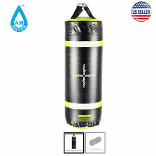 MaxxMMA Water/Air 3 ft. Boxing Punching Bag MMA Dummy Ground Training (NEON)