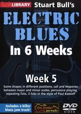 LICK LIBRARY Stuart Bull's ELECTRIC BLUES GUITAR In 6 WEEKS Paul Kossoff DVD 5