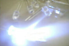 100PCS 5mm White 30000mcd ULTRA BRIGHT Water Clear CAR/BOAT LED W FREE RESISTOR
