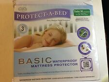 Protect A Bed  Mattress Protector Twin XL