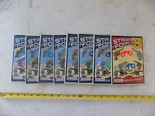 Strike Force Mini Stretchy Guns & Cuffs Bulk Vending Display Toys Big Lot of 8