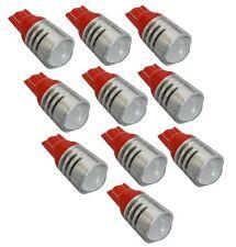 10 ampoule T10 W5W 12V LED HIGH POWER rouge veilleuse éclairage intérieur coffre