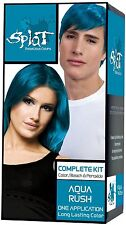 Splat Hair Color Kit Aqua Rush