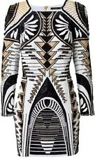 NWT Balmain H&M Beaded Embellished Dress, Sz US 8/ EUR 38, UK 12 Sold Out!!!