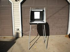 UAI BLACK VOTING BOOTH SELF CONTAINED PLASTIC CASE SUITCASE ELKHART WITH LIGHT