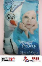 Disney Frozen Olaf Hair Wrap Kids Girl Bath Towel Turban Swimming kid anna Elsa
