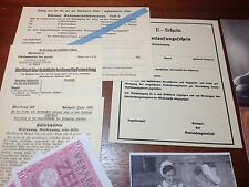 Reproduction WW2 German Soldbuch/Wallet Personal Items Packet 2