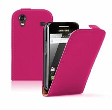 Ultra Slim PINK Leather case for Phone Samsung Galaxy Ace GT-S5830i / S5839i