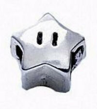 LOOK Super Mario Star power Real Genuine Sterling silver 925 jewelry European be