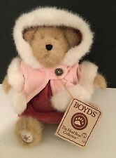 "*BOYDS Bears* Elise Frostbeary #93425V QVC EXCLUSIVE plush toy 8"" RETIRED teddy"