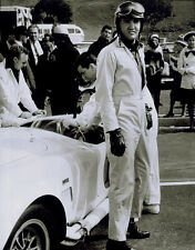 ELVIS PRESLEY POSTER PAGE . SPINOUT - RACING OVERALLS . NOT CD DVD M53