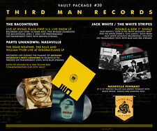 "Third Man Vault 30 Vinyl LP Record/7"" Jack White Stripes Raconteurs Dead Weather"