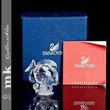 SWAROVSKI CRYSTAL BLUE TANG FISH CLEAR 2007 SCS 883822 MINT IN BOX WITH CERT!!