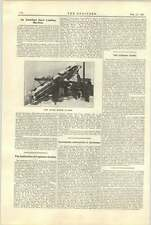 1921 American Snow Loading Machine Barber Greene Chicago