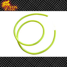 1m /3 Feet Dia 8mm Magnetic Motorcycle Fuel Gas Vent Drain Line Hose Tube Yellow