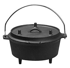 Star Universal Pre-Seasoned Cast Iron Camping Dutch Oven PS193 Dutch Oven NEW
