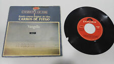 "VANGELIS CHARIOTS OF FIRE SOUNDTRACK SINGLE 7"" VINYL SPANISH EDIT ESTA ROTO LEER"