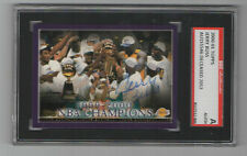 Jerry Buss 2000 Topps signed auto autographed card SGC Certified Lakers