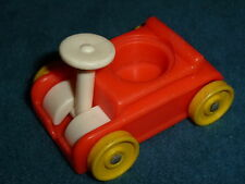 FISHER PRICE LITTLE PEOPLE  KIDDY KAR CAR MADE IN  U.S.A.