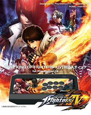 PS4/3/PC Real Arcade Pro HAYABUSA Fighting Stick Controller KOF XIV 14 JAPAN F/S