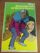 Vintage Hunchback of Notre Dame  Pendulum Press New Age Classic Cover Poster 70s