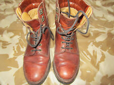 Camel LOGGER casual BROWN LEATHER BOOTS  SIZE  UK  9 / EURO 44 vgc