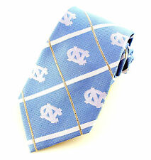 UNC Tarheels Mens Silk Necktie North Carolina University College Eagle Wings New