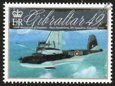 RAF 204 Squadron SHORT SUNDERLAND S.25 Flying Boat Seaplane Aircraft Stamp