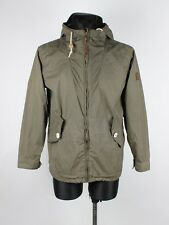 Penfield Hooded Hudson Waxcloth Men Jacket Coat Size M, Genuine