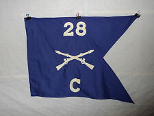 flag344  WW2 US Army Guide on 28th Infantry Regiment Company C 1st Division