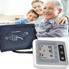 Digital LCD Automatic Wrist Arm Blood Pressure PR heart Pulse meter Monitor FDA