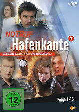 """4 DVDs * NOTRUF HAFENKANTE  ~  STAFFEL 1  # NEU OVP """""""