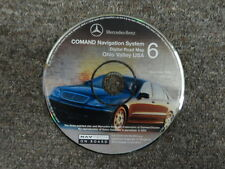 2002 Mercedes Benz COMAND NAV System Ohio Valley USA Digital Road Map CD#6