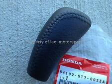 OPEN ITEM! New OEM Honda Acura Integra 5-Speed GSR VTEC PVC Leather Shift Knob