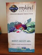 Garden Of Life My Kind Organics Men's Multi 40+ 120 Vegan Tablets Non-GMO Multi