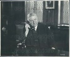 1930 Canadian National Telegraph General Manager W G Barber Toronto Press Photo