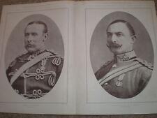 Los líderes de la ciudad imperial voluntarios CIV Mackinnon & Albemarle 1900 Impresiones Antiguas