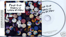 FOUR TET There Is Love In You 2010 UK 9-trk promo CD WIGCD254P