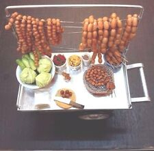 Mini Miniature Sausage Collectible Dollhouse Doll Gifts Food Shop Trike Alloy