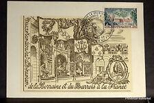 Yt 1483C LORRAINE ET BARROIS Premier Jour Carte Postale Maximum