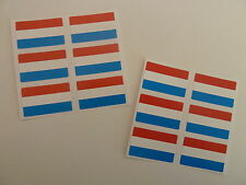 Mini Sticker Pack, Self-Adhesive Holland Netherlands Flag Labels, FR16