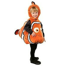 Disney Store NEMO Deluxe 3D Plush Costume 3 - 6 month Gold Fish Halloween NEW