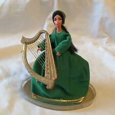 Costume Doll - Irish Harpist
