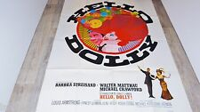 HELLO DOLLY !  barbara streisand affiche cinema musique  1969