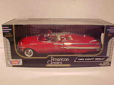 1958 Chevy Impala Convertible Die-cast Car 1:18 Red by Motormax10 inch