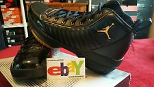 Nike Air Jordan XIX 19 SE 06/29/2004 BLACK/METALLIC GOLD 308492 071